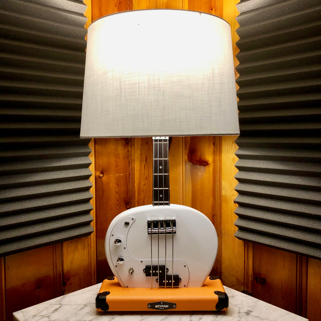 Guitar Lamp -  P-Bass Style Bottoms Up #068 of Collection