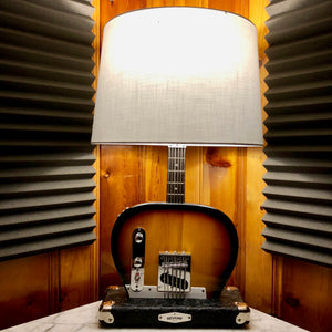 Guitar Lamp - Bottoms Up Tele Style Sun Burst Style #067  of Collection