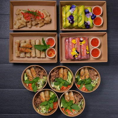 Super Flavours Catering Menu by Chao