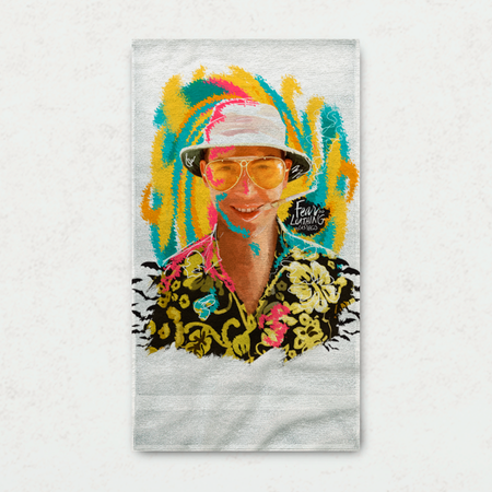 Fear and Loathing Towel