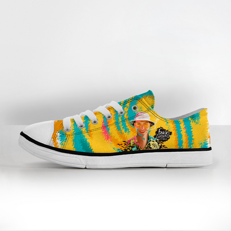 Fear and Loathing Canvas Shoes