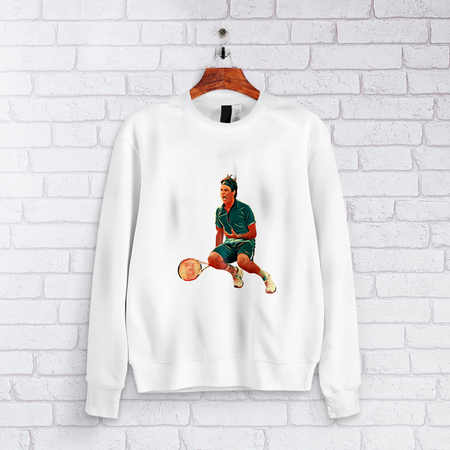 Roger Federer - The King Conquering Paris Design Sweatshirt