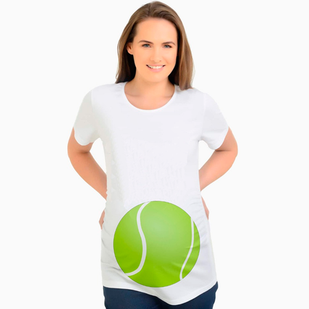 Maternity Tennis Ball T-Shirt