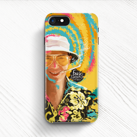 Fear and Loathing Hard Phone Case