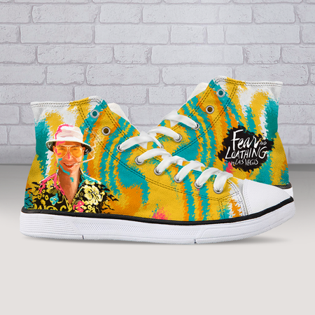 Fear and Loathing High Tops