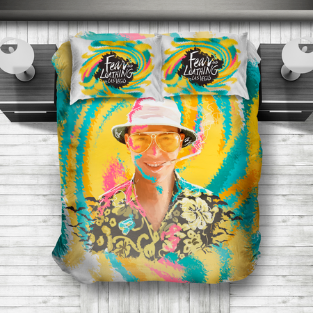 Fear and Loathing Duvet Cover Set