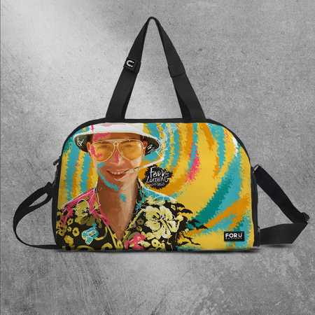 Fear and Loathing Gym Bag