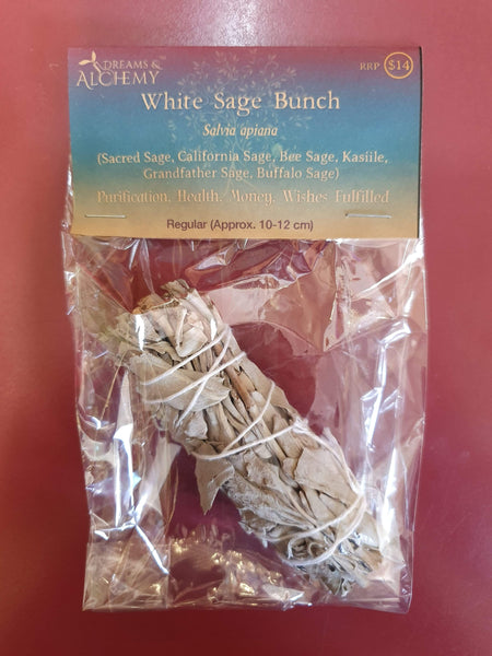 Sage Small (smudge stick) - approx. 10cm - 12cm (OS1)