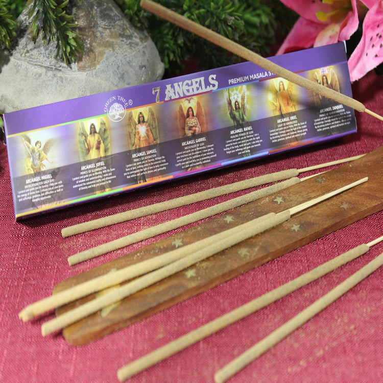 7 Angels Incense by Green Tree Candle Company (Inc83)
