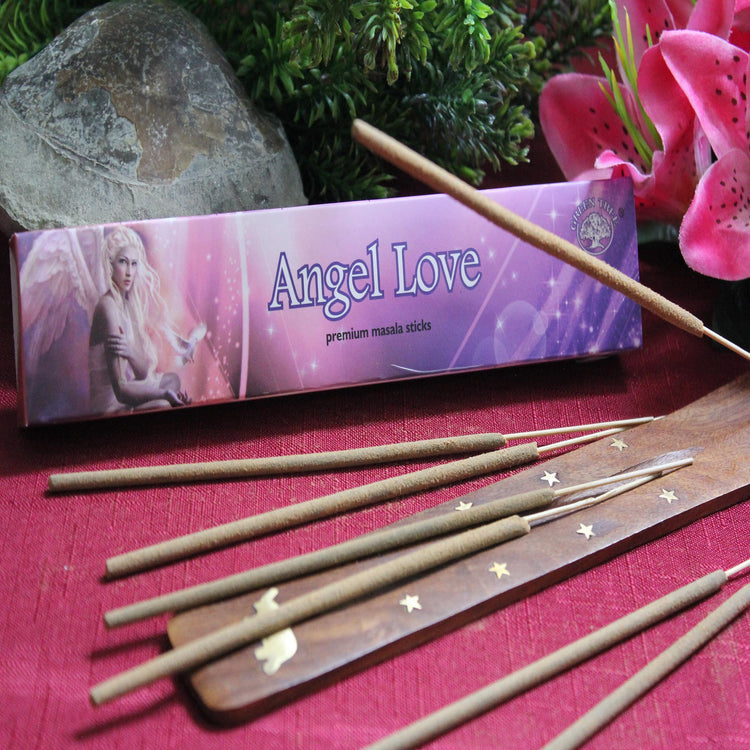 Angel Love Incense by Green Tree Candle Company (Inc32)