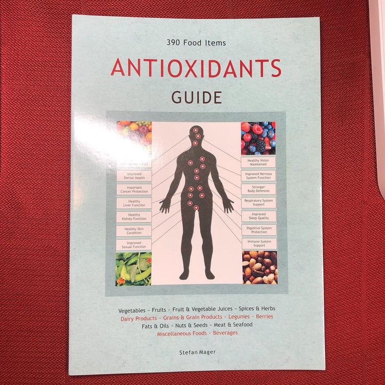 Antioxidants Guide Booklet by Stefan Mager (Bkl3)
