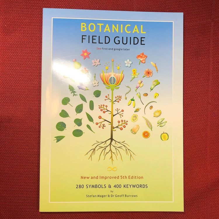 Botanical Field Guide Booklet by Stefan Mager & Dr Geoff Burrows (Bkl6)