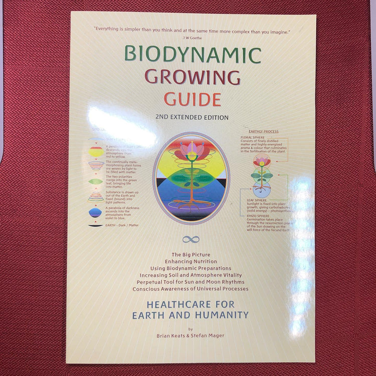 Biodynamic Growing Guide Booklet by Brian Keats & Stefan Mager (Bkl5)