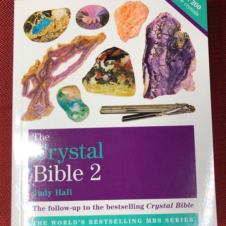 The Crystal Bible 2 by Judy Hall (Bk6)