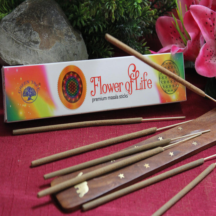 Flower of Life Incense by Green Tree Candle Company (Inc35)