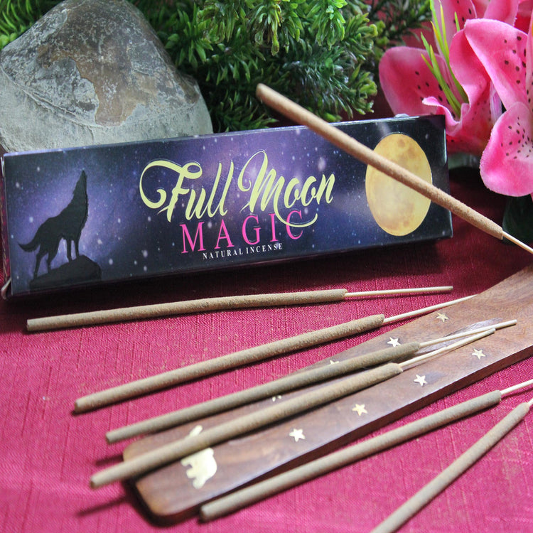 Full Moon Magic Incense by New Moon Aromas (Inc23)