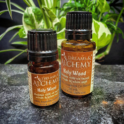 Holy Wood - Essential Oil Blend - Clears & Sanctifies Spaces (OOilblend5a, OOilblend5b)