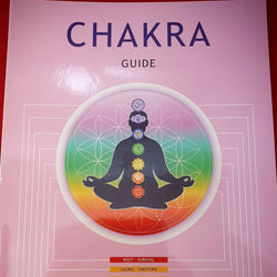Chakra Guide Booklet by Stefan Mager (Bkl7)