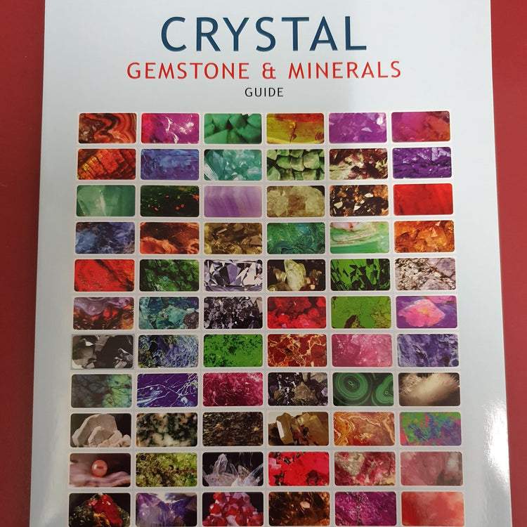 Crystal Gemstone & Minerals Guide Booklet by Stefan Mager (Bkl8)