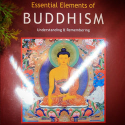 Essential Elements of Buddhism Booklet by Stefan Mager (Bkl9)
