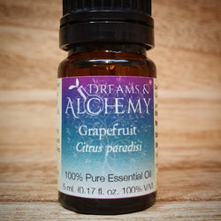 Grapefruit Essential Oil- Citrus paradisi - 100% pure - 5ml & 15ml (OO12a & OO12b)