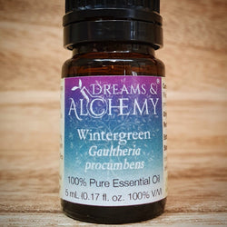 Wintergreen Essential Oil - Gaultheria procumbens - 100% pure - 5ml & 15ml (OO33a & OO33b)