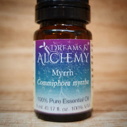 Myrrh Essential Oil - Commiphora myrrha - 100% pure - 5ml & 15ml (OO18a & OO18b)
