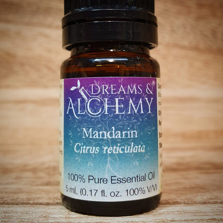 Mandarin Essential Oil - Citrus reticulata - 100% pure - 5ml & 15ml (OO17a & OO17b)