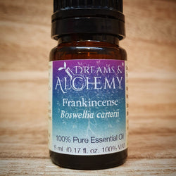 Frankincense Essential Oil - African - Boswellia carterii - 100% pure - 5ml & 15ml (OO10a & OO10b)