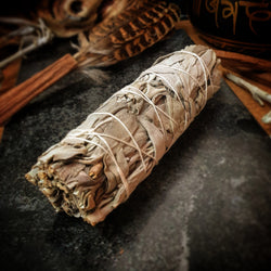 Sage Small (smudge stick) - approx. 10cm - 12cm Xmas Special! Discounted to $9.80