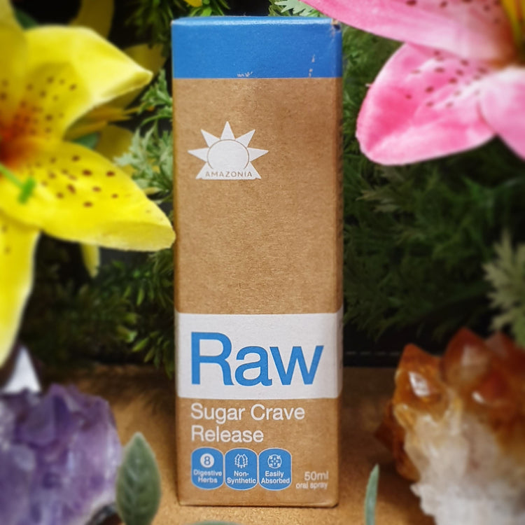 Amazonia Raw Sugar Crave Release 50ml spray (HT38)