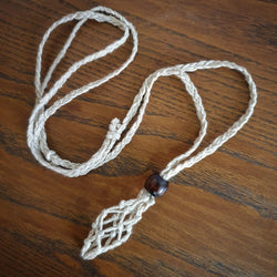 Macrame Necklace - Cotton (Macra1)