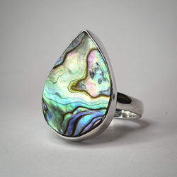 Abalone Shell Ring Size 7 (SSR257)