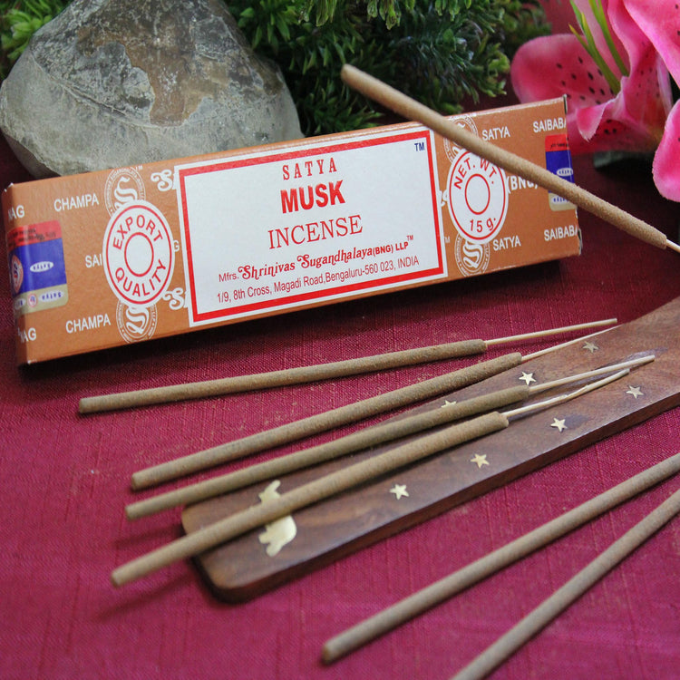 Musk Incense by Satya (Inc70)