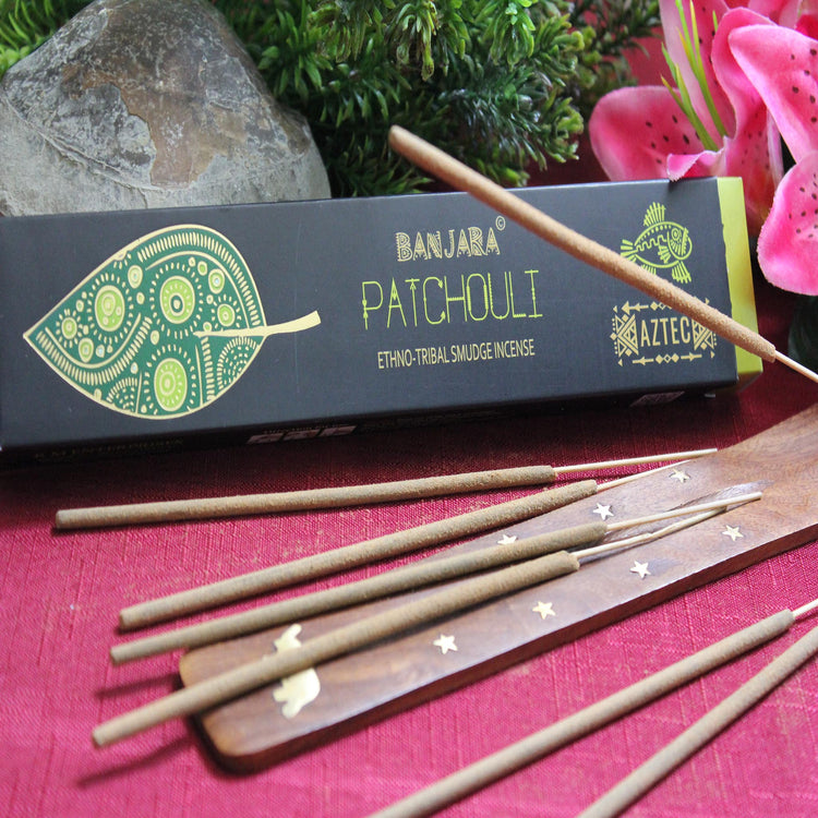 Patchouli Incense by Banjara (Inc18)