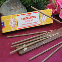 Sandalwood Incense by Satya (Inc78)