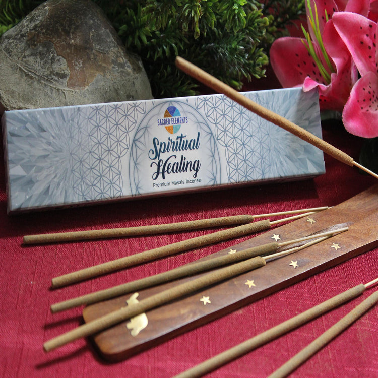 Spiritual Healing Incense by Sacred Elements (Inc19)