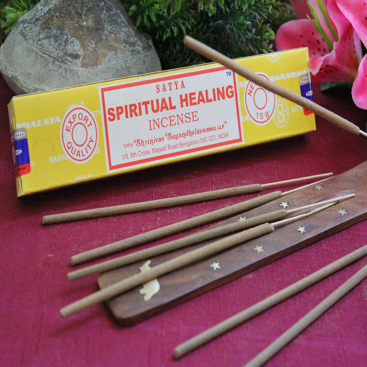 Spiritual Healing Incense by Satya (Inc71)