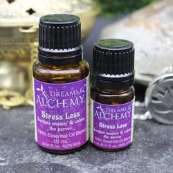Stress Less Essential Oil Blend - Soothes Anxiety & Calms the Nervous System (OOilblend4a, OOilblend4b)