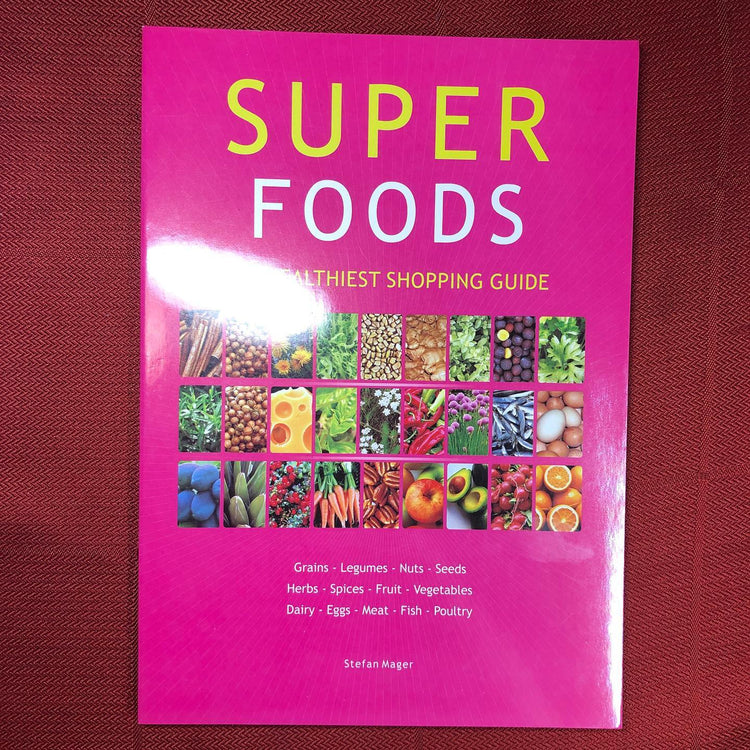 Super Foods Booklet by Stefan Mager (Bkl11)