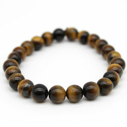 Tiger Eye Beaded Bracelet - AA Grade (BTE2-14 to BTE2-30)
