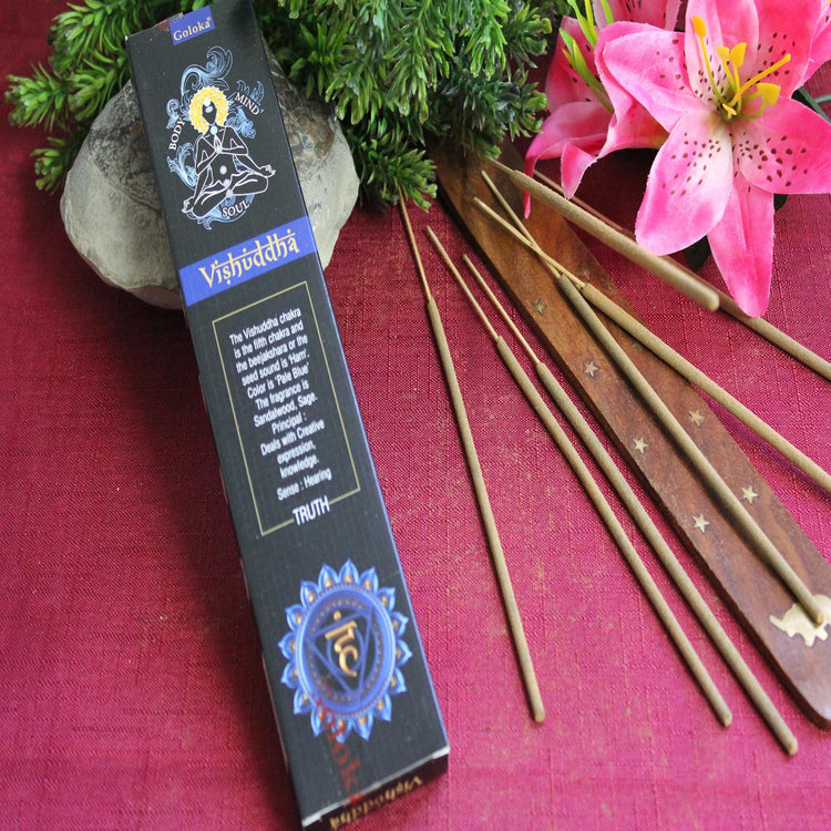 Vishuddha Incense by Goloka (Inc47)