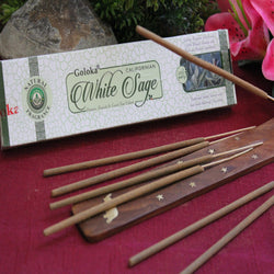 White Sage Incense by Goloka (Inc53)
