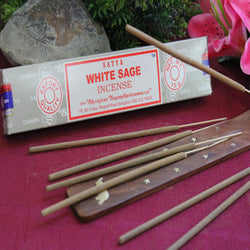 White Sage Incense by Satya (Inc77)