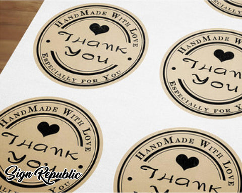 Custom Stickers (80mm W x 80mm H)