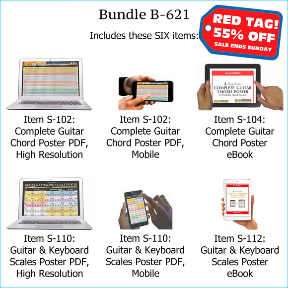 Bundle B-621 (SIX Items): Includes