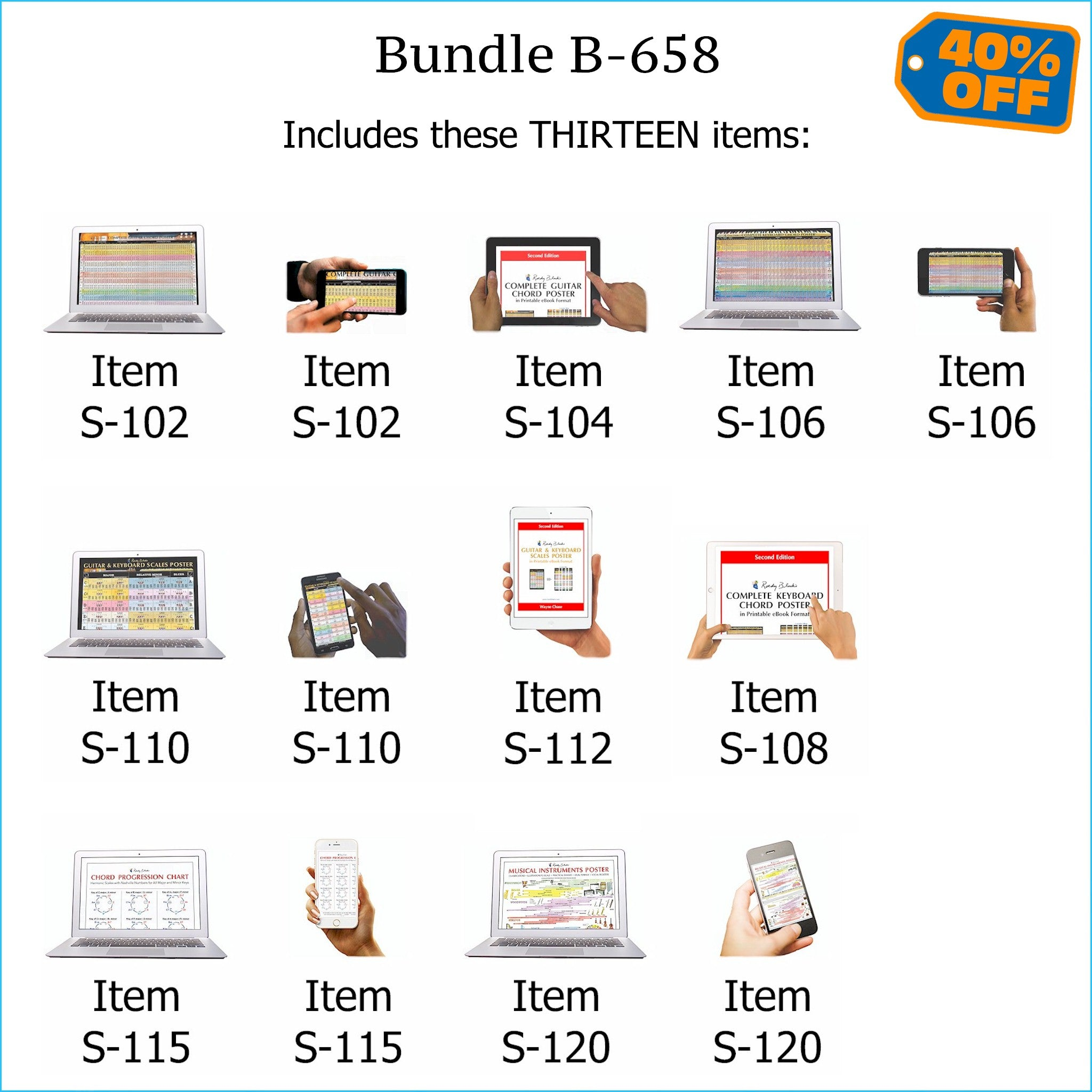 Bundle B-658: ALL Five Roedy Black Hi-Resolution E-Posters + 3 Printable Poster E-Books. FREE Download Protection.