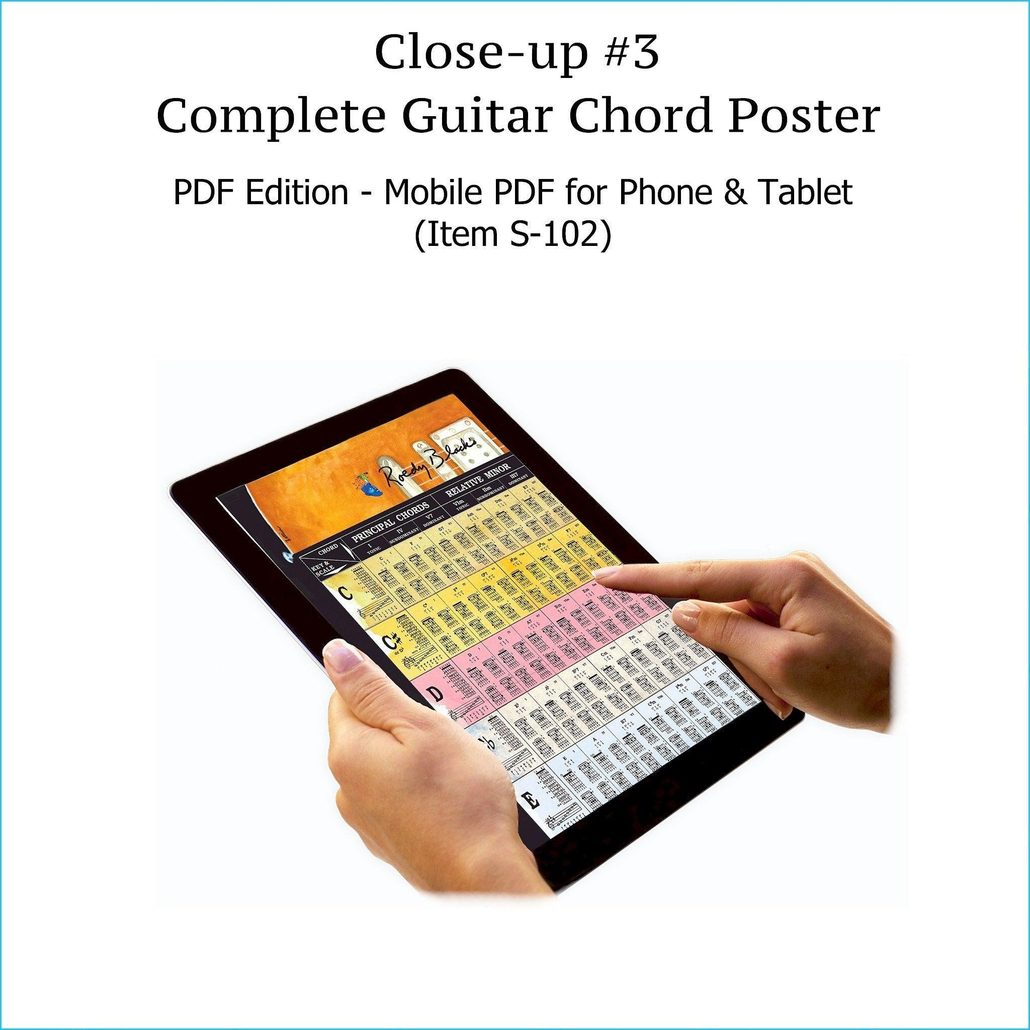 Guitar Chords PDF Chart – Roedy Black