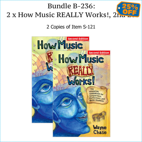 Two copies of How Music Really Works, Second Edition.