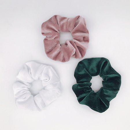Pretty Pod Velvet Scrunchies